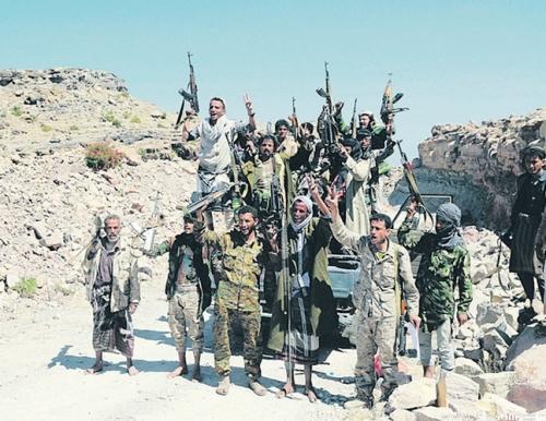 الجيش الوطني يشن هجوما عنيفا على ميليشيا الحوثي في أطراف منطقة قانية بين البيضاء ومأرب