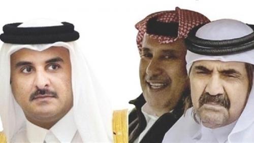 تنظيم الحمدين ينهب أموال قطر