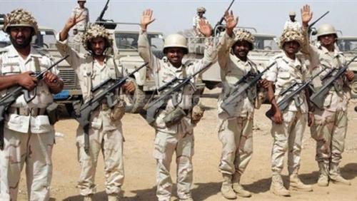 الحرس السعودي يقصف مواقع المليشيا بالمدفعية في حيدان والظاهر بصعدة