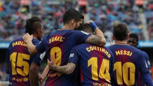 برشلونة يسجل رقما تاريخيا في الدوري الإسباني