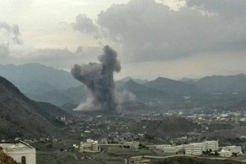 مقتل وإصابة العشرات من مليشيا الحوثي في غارات للتحالف غرب تعز