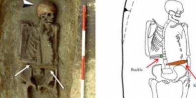 صور .. العثور على هيكل محارب إيطالي استخدم طرفا صناعيا في العصور الوسطى