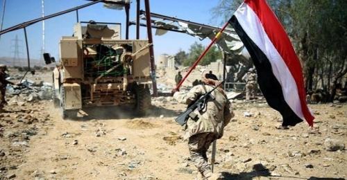 مقتل 13 حوثياً ينيران الجيش الوطني في مديرية الصلو جنوبي شرق تعز