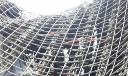 شاهد بالصور .. سقوط سقف أحد المساجد بشبوة أثناء العمل