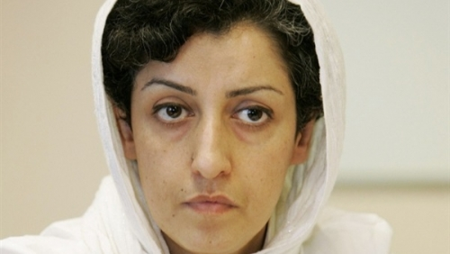 نرجس محمدي.. أشهر معتقلة إيرانية تحصد جائزة دولية