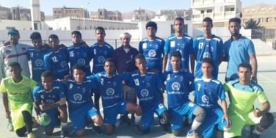 غداً التضامن يواجه شباب روكب في نهائي البطولة التنشيطية لكرة اليد لأندية ساحل حضرموت