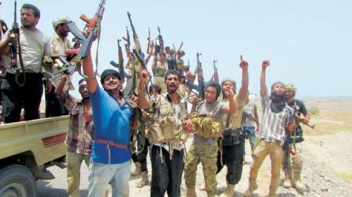 يمنيون مقيمون في دول التحالف يعلنون استعدادهم للتجنيد والذهاب إلى جبهات القتال لمواجهة الميليشيات الحوثية