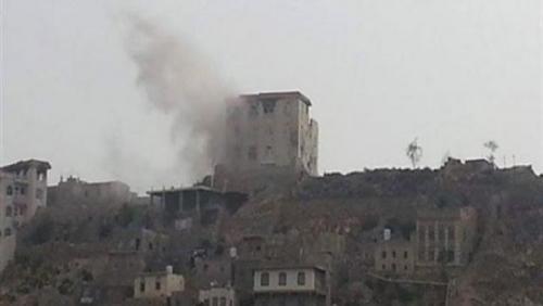 """تعز.. قتلى وجرحى حوثيون عقب صد سكان """"الحيمة"""" لهجوم حوثي على المنطقة"""