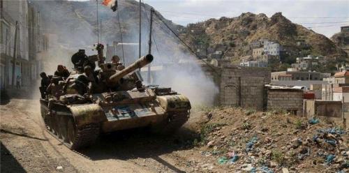 تفاصيل تحرير الجيش الوطني لمواقع هامة بجبل القرحاء الاستراتيجي في البيضاء