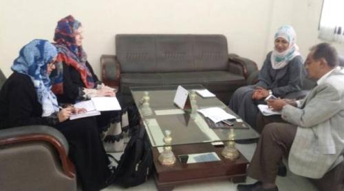 مدير صحة عدن يلتقي منسق منظمة الهجرة الدولية ( IRC )