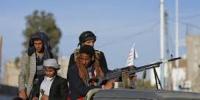 حادثة تصادم أطقم عسكرية تابعة للميليشيا بعد سماعهم تحليق طائرات التحالف في تعز