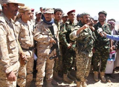 كتائب «أبو العباس» وقوات «طارق صالح» تشن هجوماً متزامناً ضد الحوثيين غربي تعز