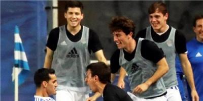 بالصور: ريال سوسيداد يقرب برشلونة من لقب الليجا