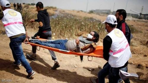 """مقتل فلسطيني في الجمعة الرابعة من مسيرة """"العودة"""""""