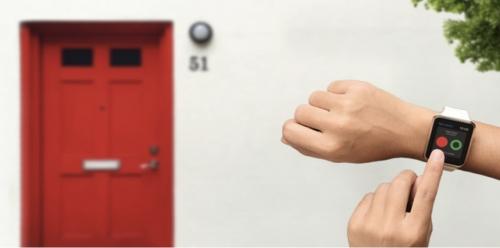 """ساعة """"أبل"""" تستطيع فتح باب بيتك الآن"""