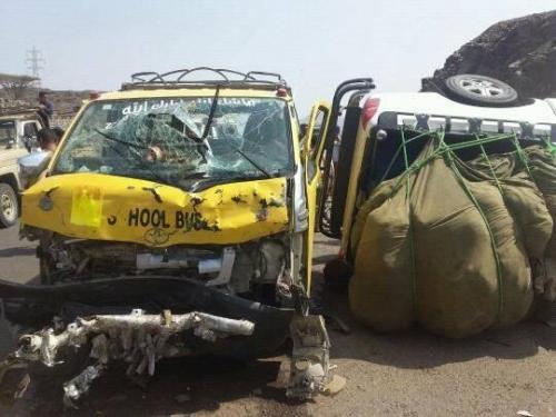 وفاة وإصابة 5 بينهم نجل مدير أمن طور الباحة جراء حادث مروري