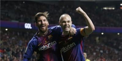 بالصور.. برشلونة بطلًا لكأس ملك إسبانيا بعد اكتساح إشبيلية
