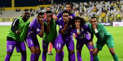 العين يكتسح النصر ويتوج بلقب الدوري الإماراتي