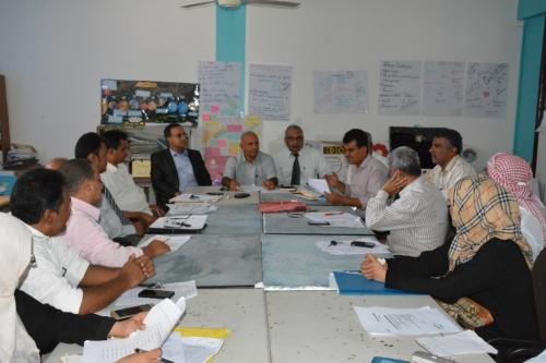 مجلس كلية التربية عدن يعقد اجتماعه الدوري