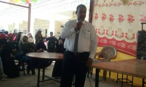 مدير التربية بلحج: الهلال الأحمر الإماراتي قدم (100000) ريال سعودي لدعم العملية الامتحانية بالمحافظة