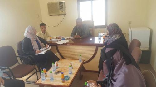 مدير عام بروم ميفع بحضرموت يلتقي المدير التنفيدي لمؤسسة لأجل الجميع للتنمية