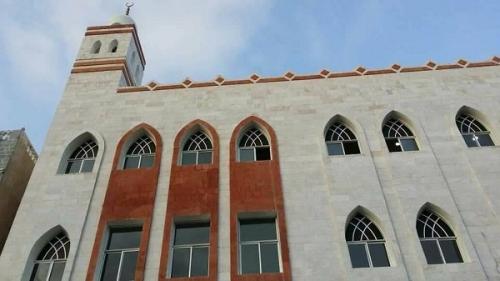 بعد إعادة بنائه بالكامل، قريباً إعادة افتتاح مسجد الحامد بعدن (صور)