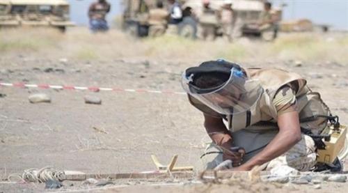 نزع 300 ألف لغم زرعته الميليشيات الحوثية في المناطق المحررة