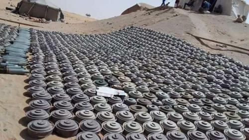 اليمن: نزع 300 ألف لغم بالمناطق المحررة