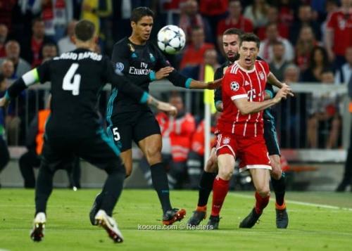 بالصور: ريال مدريد يعاقب بايرن ميونخ