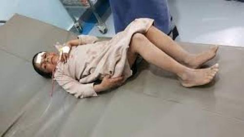 إصابة 4 أطفال بقذائف مليشيات الحوثي بمديرية الغيل بالجوف