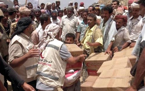 منظمة الإغاثة الدولية تضع آليات لتنفيذ برنامج المساعدات الغذائية بعدن