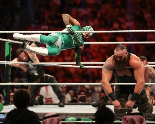 بالصور .. تنظيم مبهر للعرض الأكبر في تاريخ WWE أعظم رويال رامبل في جدة