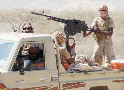 """عاجل.. انطلاق عملية """"الجبال السود"""" لتطهير المناطق الجبلية في ساحل حضرموت من عناصر القاعدة"""
