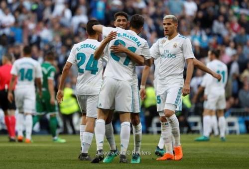 بالصور.. فوز باهت لبدلاء ريال مدريد على ليجانيس