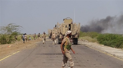 الجيش اليمني يتقدم باتجاه مدينة البرح في تعز