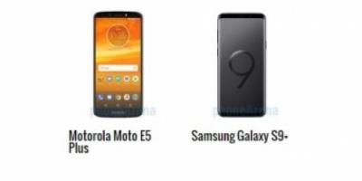 أبرز الاختلافات بين هاتفي موتورولا موتو E5 Plus وجلاكسي S9+