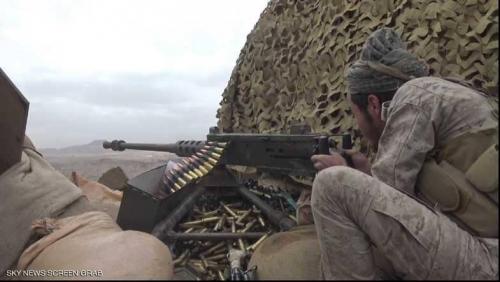 """التحالف يدك الحوثيين في """"معقلهم"""""""