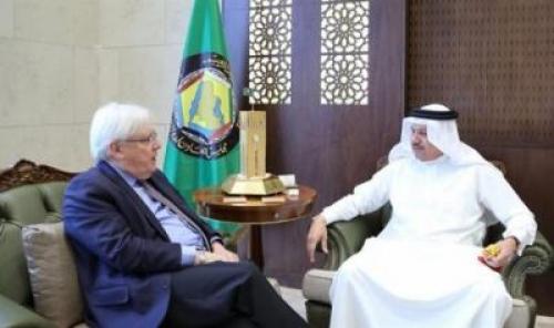 أمين عام مجلس التعاون الخليجي يلتقي المبعوث الأممي إلى اليمن