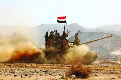 الجيش الوطني يعلن رسميًا المسافة التي تفصله عن مخبأ زعيم الحوثيين في مران