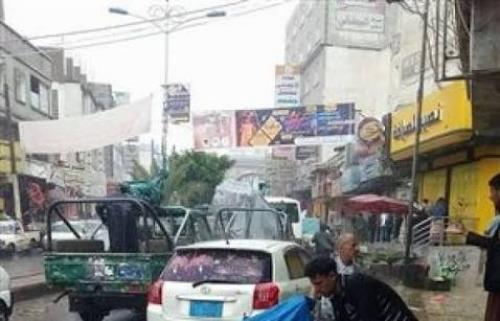 مليشيا الحوثي تغلق عددا من محلات الصرافة في إب