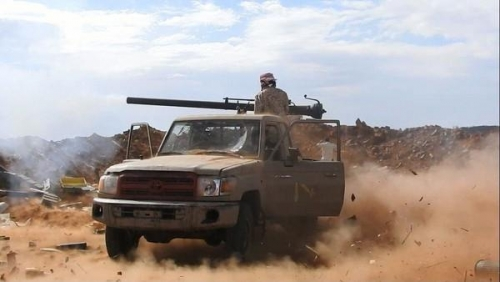 قوات العمالقة تسيطر على وادي رسيان وتتقدم نحو مفرق الوازعية البرح