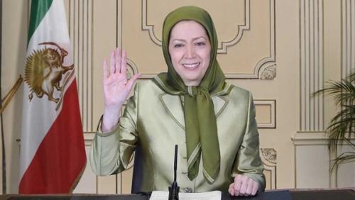 زعيمة المعارضة الإيرانية تطالب المجتمع الدولي بدعم انتفاضة الشعب