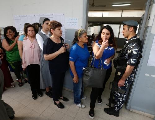 انتهاء التصويت في الانتخابات البرلمانية اللبنانية