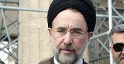 محمد خاتمي: يجب تغيير النظام في إيران