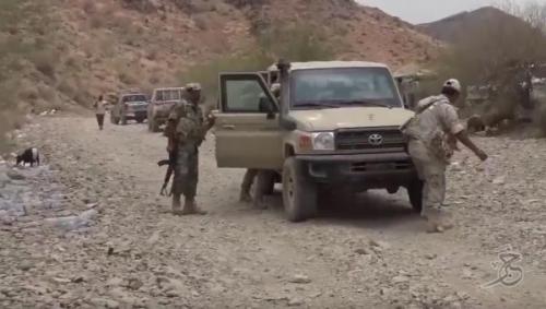 المقاومة الوطنية بقيادة العميد طارق تسيطر كليا على مفرق المخا وتقطع خط إمداد الحوثيين