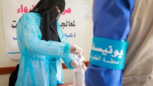 يونيسف: الكوليرا يتراجع في اليمن لكن تفشيه ما زال خطراً