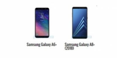 أبرز الاختلافات بين هاتفي جلاكسي  A6+ و A8+