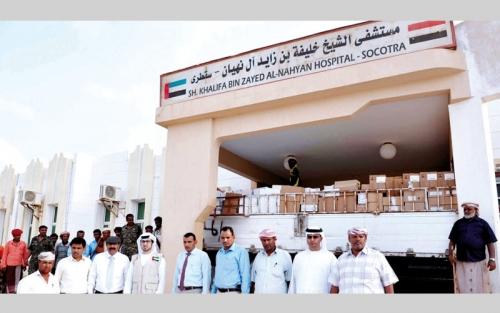 المشروعات الإنسانية والتنموية في سقطرى تؤكد عظمة الدور الإماراتي