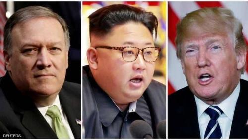 بومبيو سيعود من كوريا الشمالية مع المحتجزين والتاريخ والساعة