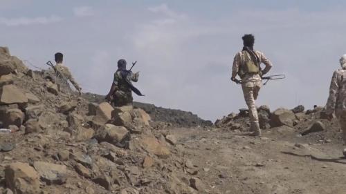 الجيش الوطني يسيطر على مركز مديرية موزع غرب تعز